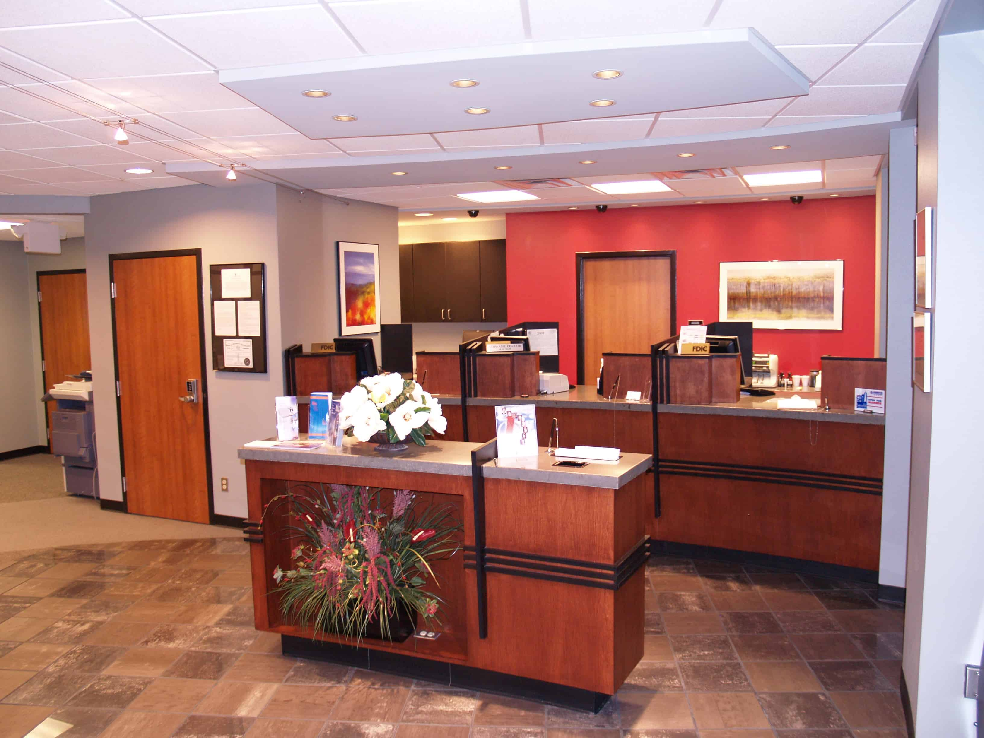 Business First Bank Front Desk
