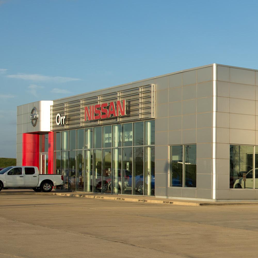 Orr-Nissan automobile service center in Bossier