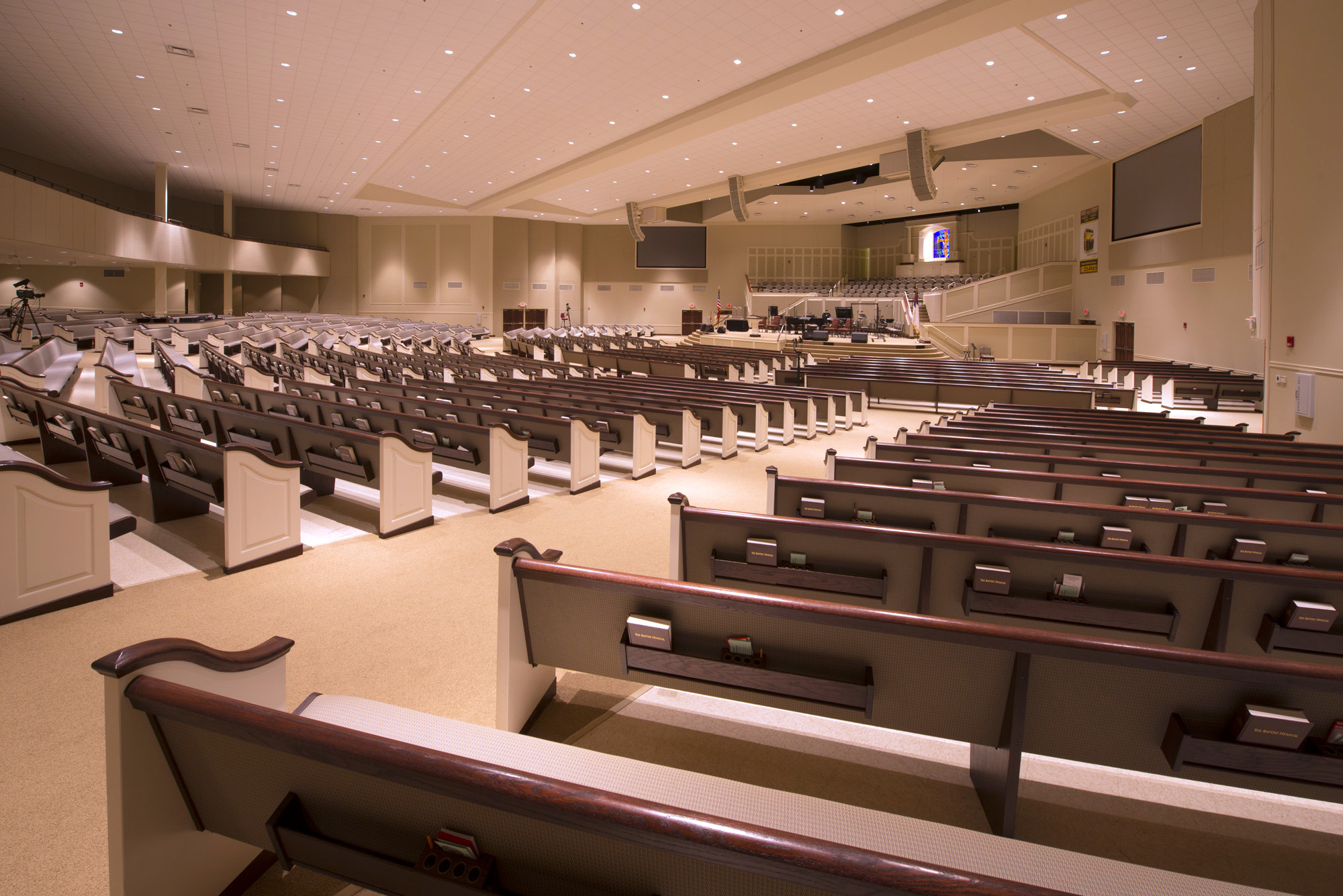 Summer Grove Baptist Church Interior Design